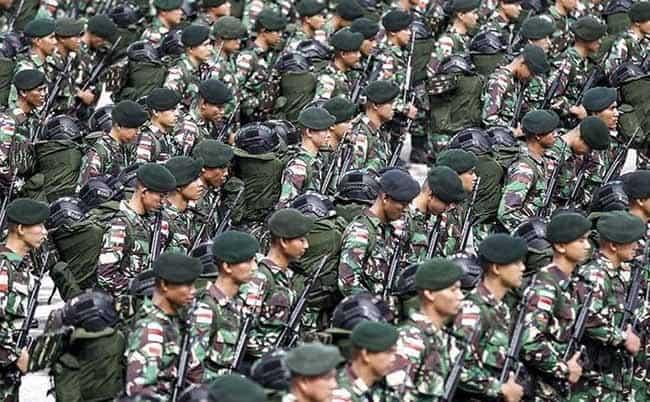 Syarat Bintara TNI AD 2021