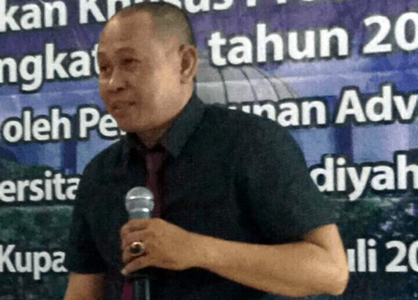 Ketua LKBH FH Undana Kupang, Husni Kusuma Dinata, SH, MH