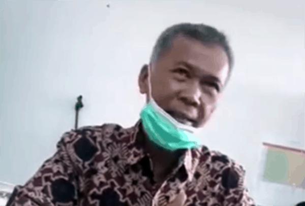 Wakil Kepala Sekolah Bidang Kesiswaan SMKN 2 Padang, Zakri Zaini.