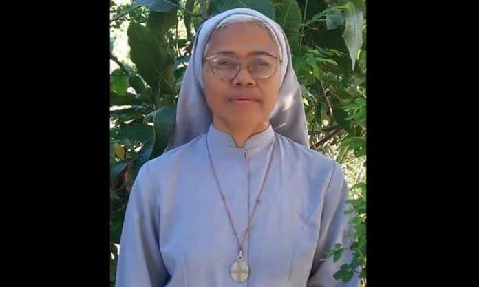 Suster Maria Zakaria Tukinem, FMM, semasa hidup.