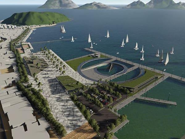 Kota tepian air atau waterfront city Labuan Bajo (foto: Brantas Abipraya)