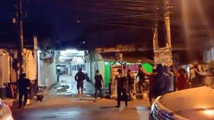 Bentrokan antara Kelompok Kupang dan para pendekar PSHT di tanggerang