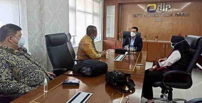 KPK berkoordinasi dengan pejabat KPP Pratama Ende