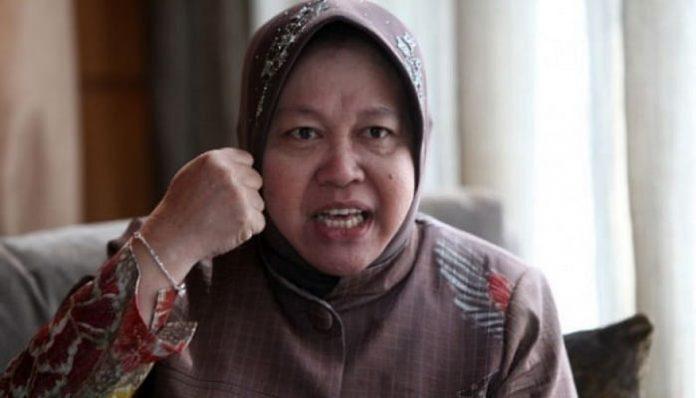 Menteri Sosial, Tri Rismaharini yang akrab disapa Bu Risma.