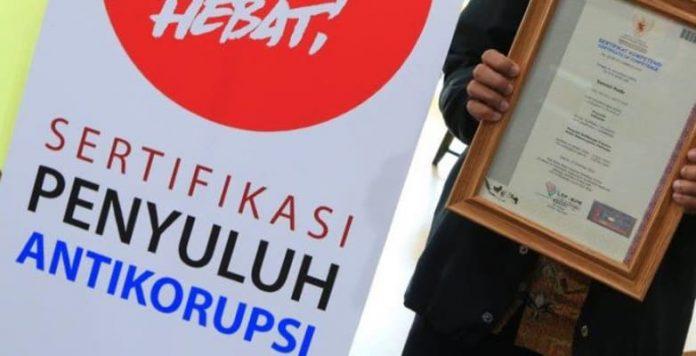 Penyuluh Antikorupsi adalah agen perubahan yang turut serta bersama KPK memberantas korupsi melalui kegiatan penyuluhan antikorupsi.