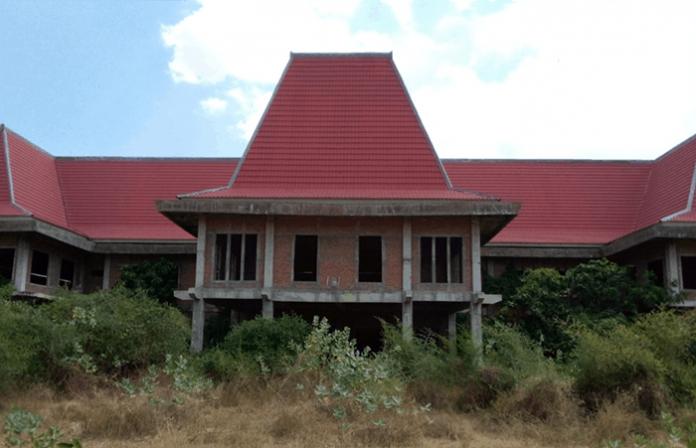 Gedung DPRD Kabupaten Nagekeo. Foto diambil Kamis 22 JUli 2021.